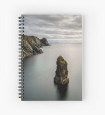Glencolmcille sea stacks Spiral Notebook