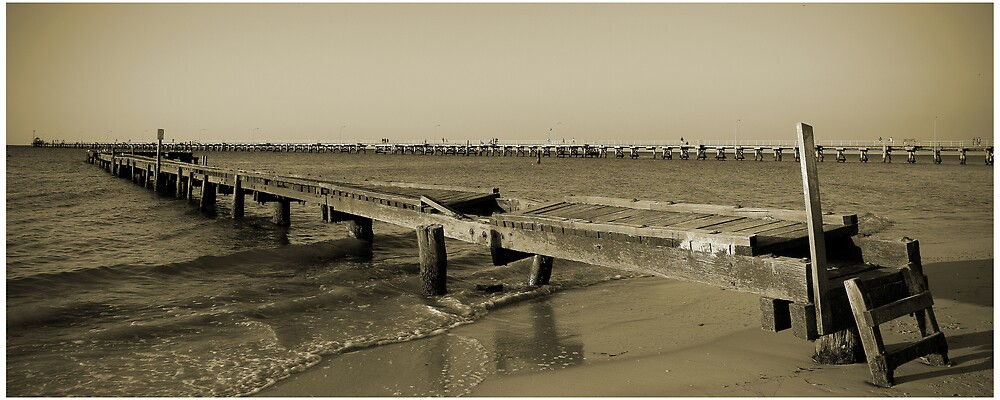 "The ""Other"" Busselton Jetty by Roland de Haas"