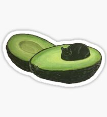 Catvocado Sticker