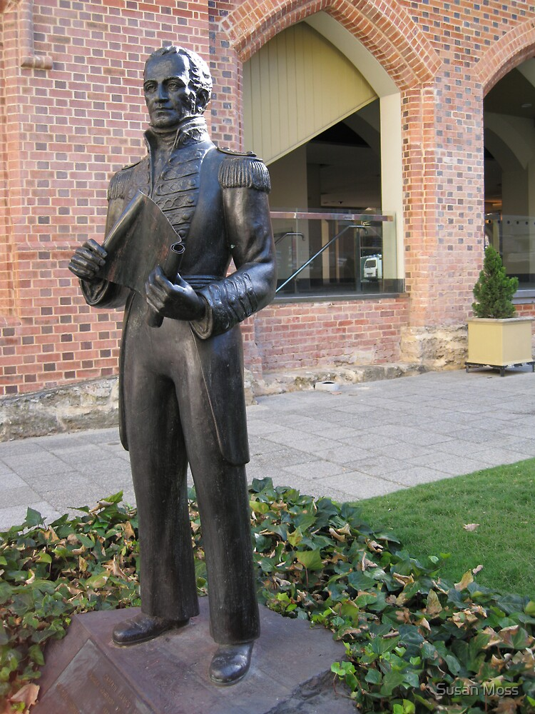 Captain James Stirling by Susan Moss