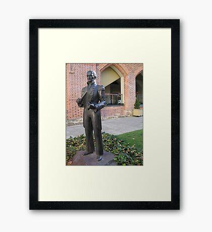 Captain James Stirling Framed Print