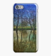 Reflections and Shadows on water iPhone Case/Skin