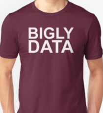 Bigly Data Unisex T-Shirt