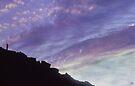 Watching Sunset from Mount Monroe by Wayne King