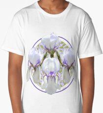Historic Tall Bearded Iris, 'Claribel' Long T-Shirt