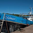 Monaco in Stornoway Harbour by Kasia-D