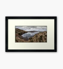 Donegal lake Framed Print