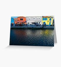 Fish Market Aveiro Portugal Greeting Card