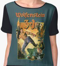 Wolfenstein 3D Women's Chiffon Top