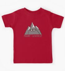 Nerd Mount Cleverest Kids Tee