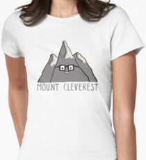 Nerd Mount Cleverest Womens Fitted T-Shirt