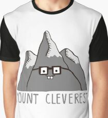 Nerd Mount Cleverest Graphic T-Shirt