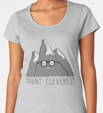 Nerd Mount Cleverest Women's Premium T-Shirt