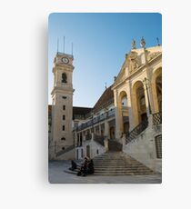 The ancient University of Coimbra Portugal Canvas Print