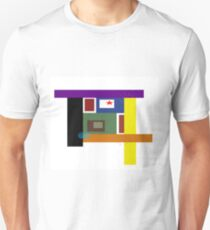 Simple Geometric Abstract No. 2 T-Shirt