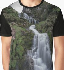 Assaranca Waterfall, Ardara Graphic T-Shirt