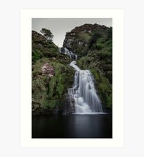 Assaranca Waterfall, Ardara Art Print