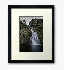Assaranca Waterfall, Ardara Framed Print