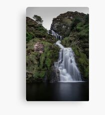 Assaranca Waterfall, Ardara Canvas Print