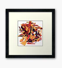 Rorzle—Shapes 1 Framed Print