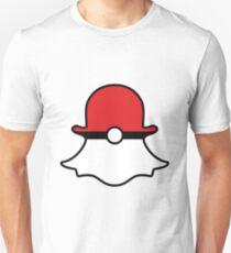 Poké Ball Snapchat Logo Unisex T-Shirt