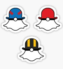 Snapchat Poké Balls - Set of 3 Sticker