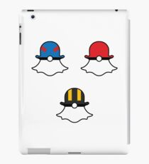 Snapchat Poké Balls - Set of 3 iPad Case/Skin
