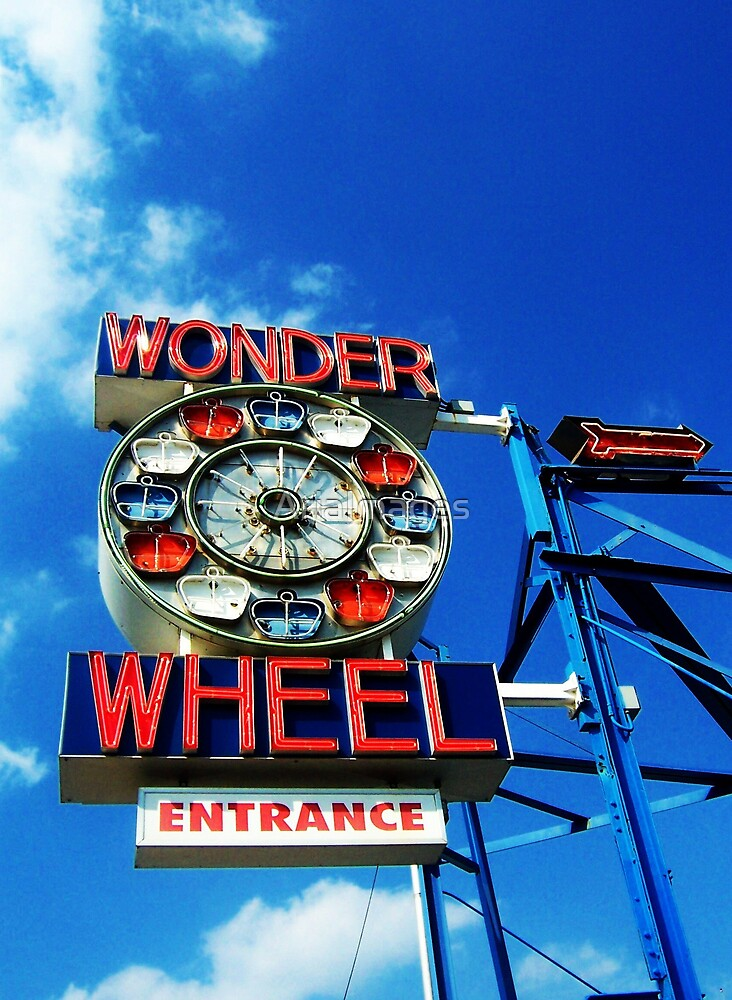 Wonder Wheel by AriaImages