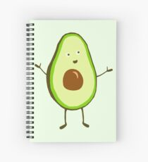 Mr Avocado Spiral Notebook