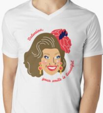 Your smile is beautiful Mens V-Neck T-Shirt