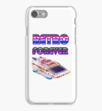 RETRO FOREVER DELOREAN iPhone Case/Skin