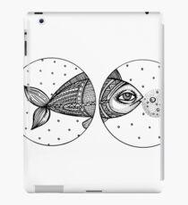 FISH BW iPad Case/Skin