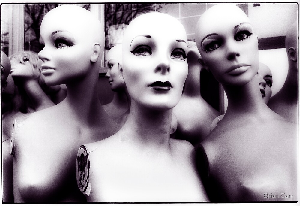 Mannequins 2 by Brian Carr