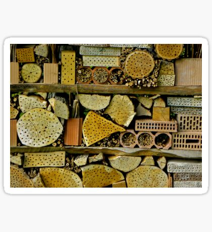 wild bee youth hostel Sticker