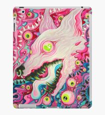 Glitterwolf Acrylic Painting iPad Case/Skin