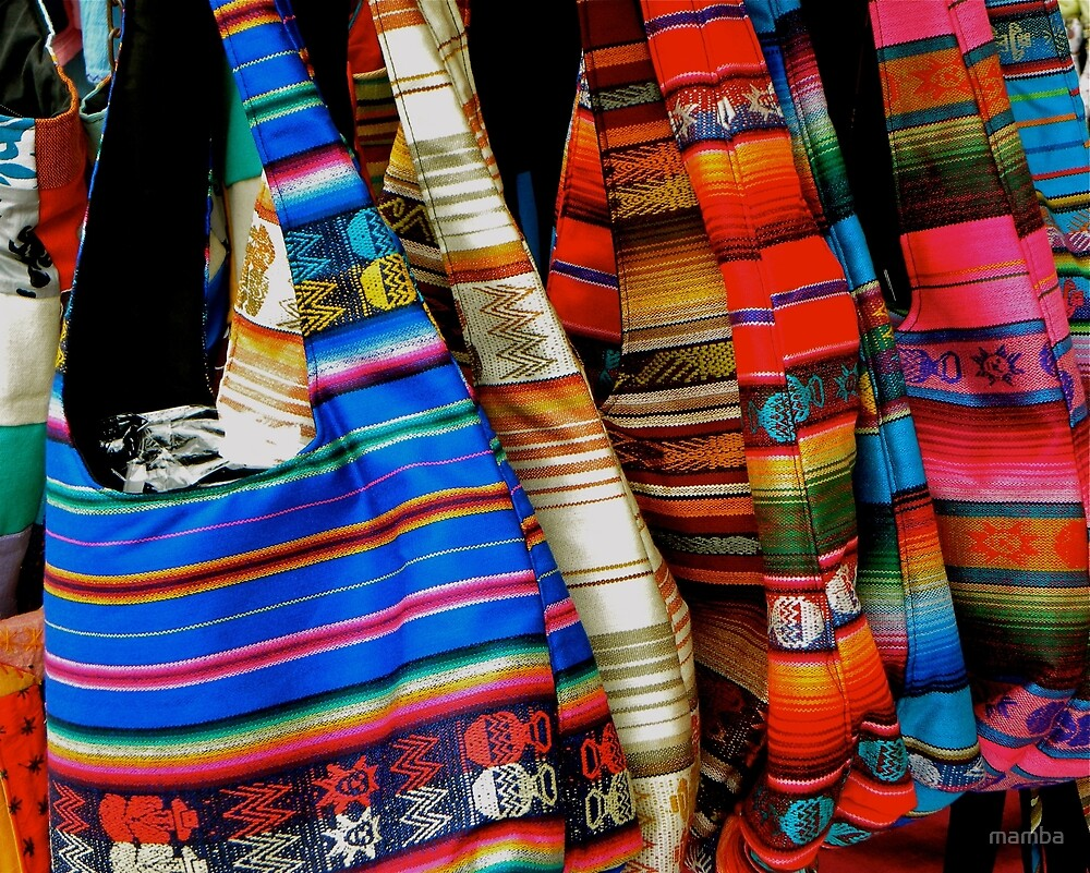 colourful bags by mamba
