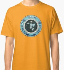 Flat Earth Designs - Antarctica Journey to the Edge of the Dome 2017 Classic T-Shirt
