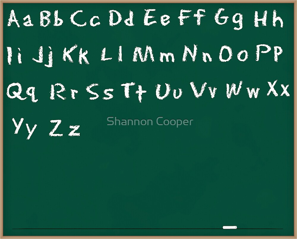 Alphabet by Shannon Beauford