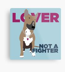 Roxy the Bull Terrier Metal Print