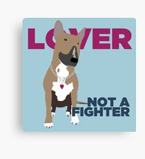 Roxy the Bull Terrier Canvas Print