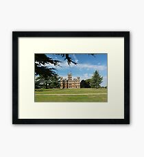 Highclere Castle a.k.a. Downton Abbey Framed Print
