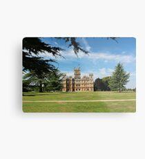 Highclere Castle a.k.a. Downton Abbey Metal Print