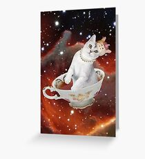 teacup kween kat Greeting Card
