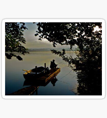dawn tranquility Sticker