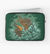 Sea Bunny Attack Laptop Sleeve