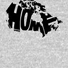 Canada Home (black) by seaning