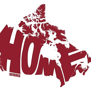 Canada Home (red) by seaning