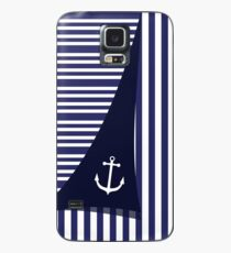 Sailor Stripes With Anchor Case/Skin for Samsung Galaxy