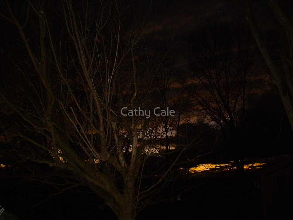 STORMY SUNSET by Cathy Cale