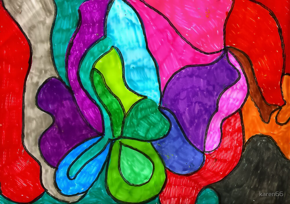 Full Color Abstract by karen66